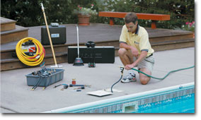 Pool Leak repair services