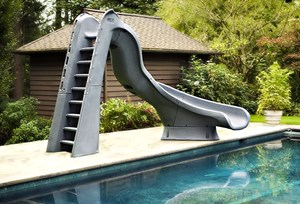 Pool Slide Pool Slide Swimming Pool Slides Pool LIners and liner install